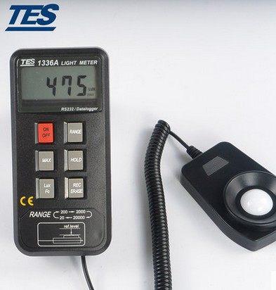 测量数字照度计TES-1336