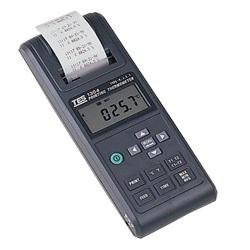 列表型温度记录表(自带打印机)TES-1304