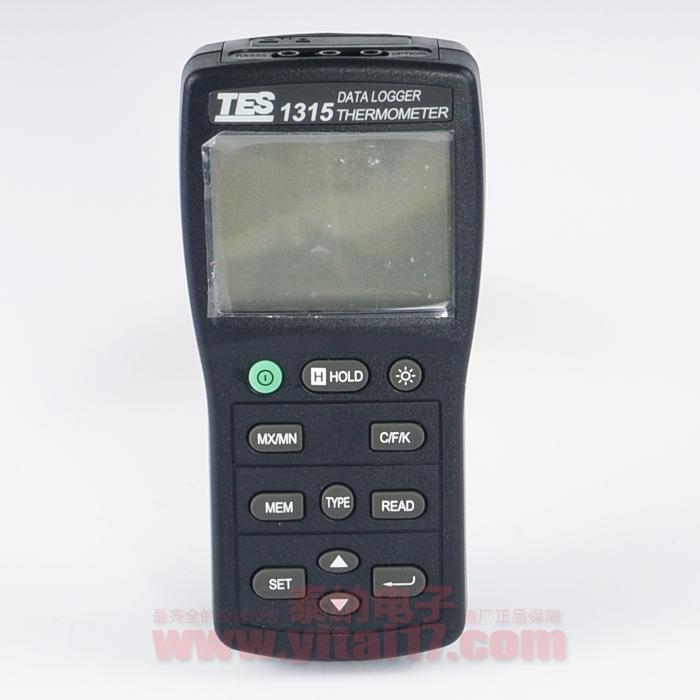 TES-1315记录式温度表