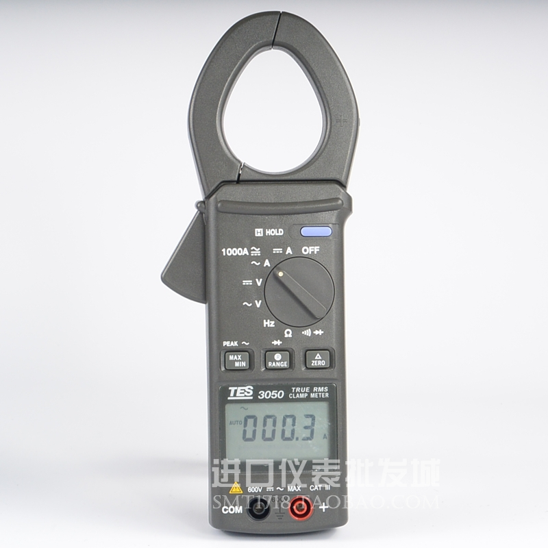台湾泰仕TES-3050真均方根值交直流钳表