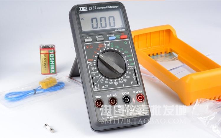 台湾泰仕记忆式数位万用表TES-2732A(RS232)