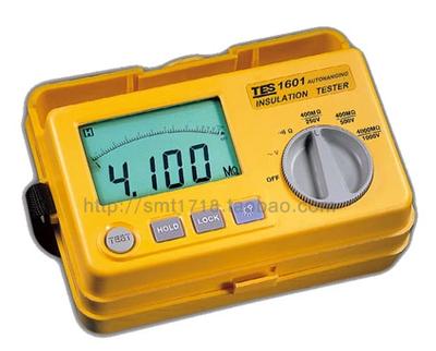 台湾泰仕数字绝缘电阻测试仪(兆欧表)TES-1601