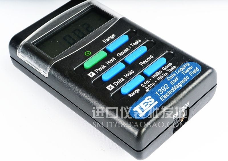 台湾泰仕TES-1392电磁场测试仪高斯计数字