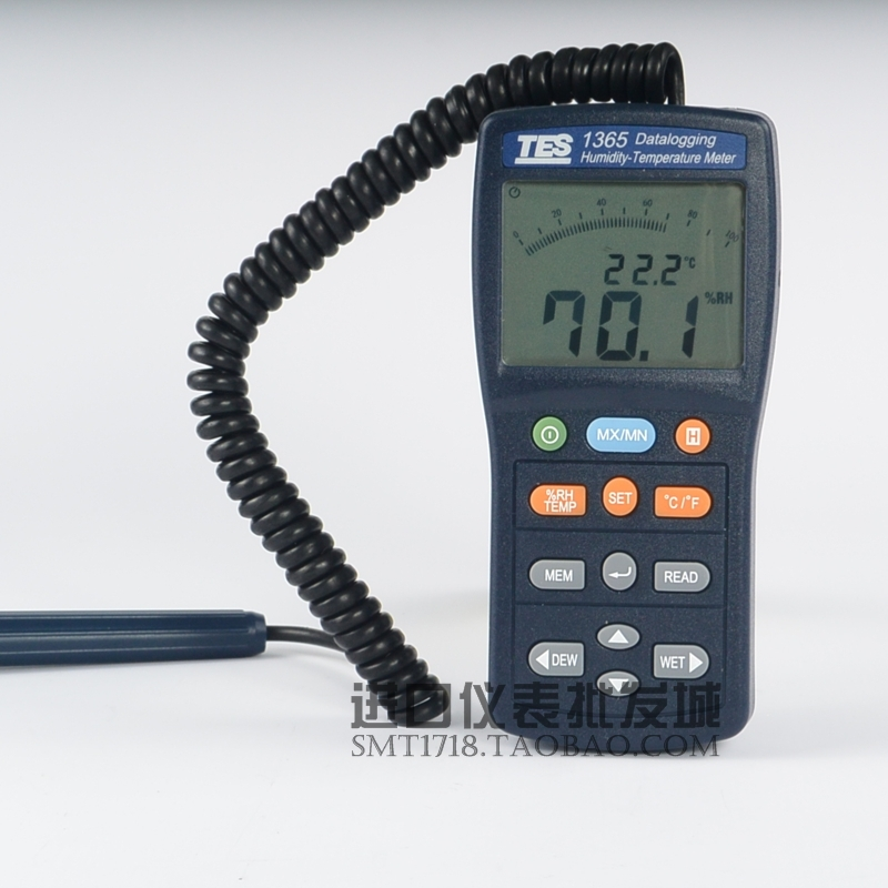 TES-1365 温湿度计