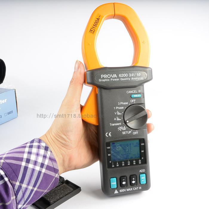 图形电力质量谐波分析仪