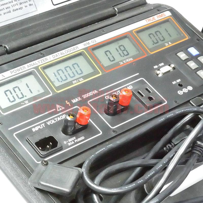 prova宝华WM-01WM-02瓦特功率表可记录型